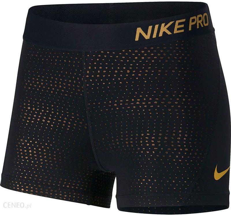 Nike Spodenki Termoaktywne Damskie Pro 3In Short Metallic Dots 932388 Ceny i opinie Ceneo.pl