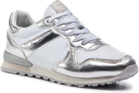 buy online 51573 b8d48 Sneakersy PEPE JEANS - Verona W Greek PLS30873 Silver 934 eobuwie