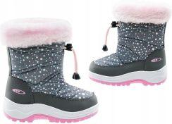 dd4171a4 Dziecięce kozaki śniegowce buty zimowe BEJO r 26 Allegro