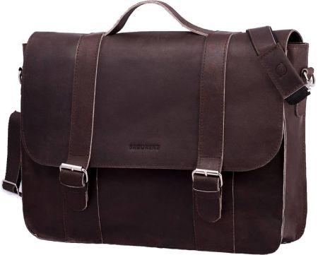 fd0d0d0c3ab8a Hama est. 1923 Amsterdam M skórzana torba na ramię - laptop 15