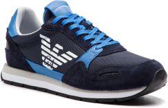 948e0b2fe9730 Sneakersy EMPORIO ARMANI - X4X215 XL198 A584 Blue/Limoges/Night eobuwie