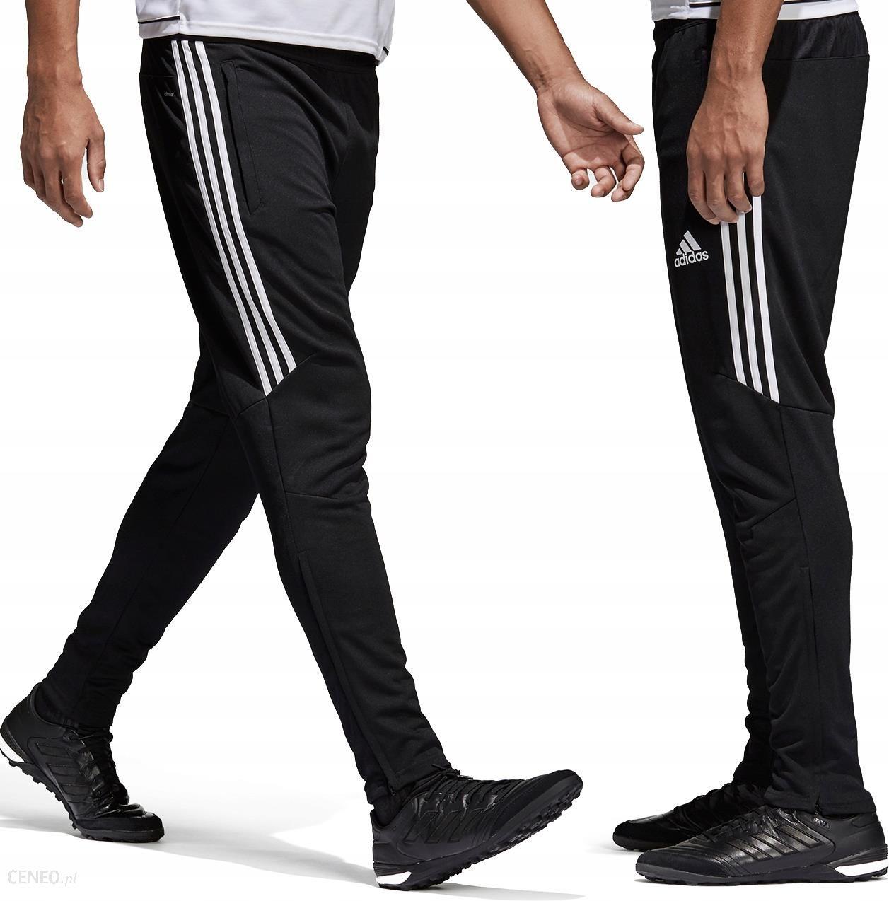 Adidas spodnie dresowe męskie dresy treningowe czarne