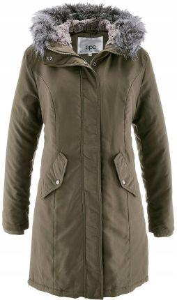 Długa kurtka pikowana ocieplana szary 38 M 955804 Ceny i
