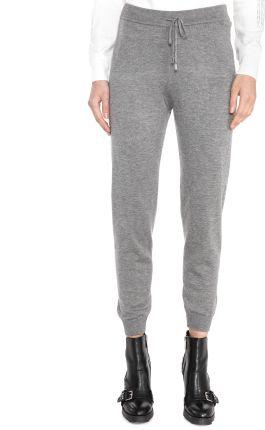 12308dee91 Spodnie dresowe damskie H4Z18 SPDD001 4F (chłodny jasny szary melanż ...