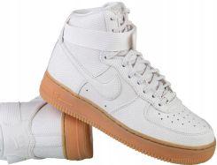 Nike Air Force 1 wysokie białe buty damskie Skóra Ceny i opinie Ceneo.pl