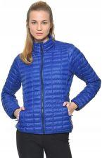 kurtka damska pikowana niebieska