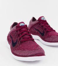 hot sale online 096f5 d09d9 Nike Running Free Run Flyknit Trainers In berry - Purple