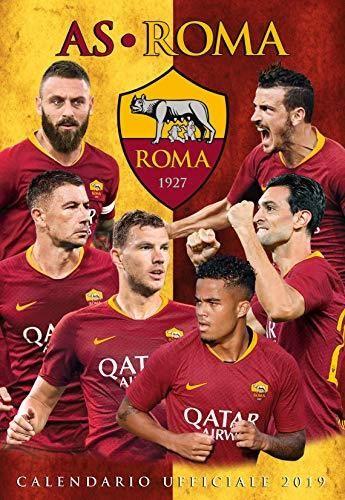 Calendario Asroma.Amazon Oficjalny Kalendarz As Roma 2019 29 X 42 Cm