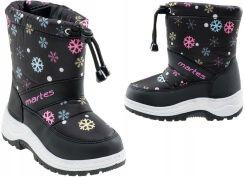 da58b618 Dziecięce kozaki śniegowce buty zimowe BEJO r 27 Allegro