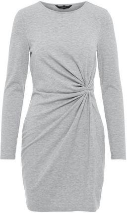 f9f8bd7a67 Vero Moda Sukienka dla kobiet Smia L   S Knot Dress D2-1 LightGrey Melange
