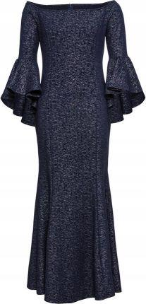 bd50b7acc6 Sukienka wieczorowa niebieski 44 46 XXL 3XL 967724 - Ceny i opinie ...