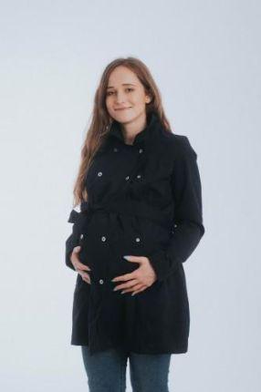 5f37d04fb3375 Zimowa kurtka dla dwojga - ciążowa - Love&Carry 3w1 - Oliwkowy 499,00zł.  Płaszcz do noszenia dzieci - Czarny