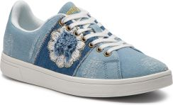 0fb0fb82f9d74 Sneakersy DESIGUAL - Cosmic Exotic Denim 19SSKD03 5007 eobuwie