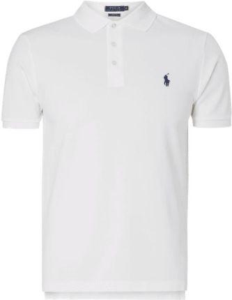 Polo Ralph Lauren Koszulka polo o kroju Slim Fit z piki - Ceny i opinie T-shirty i koszulki męskie XRPR