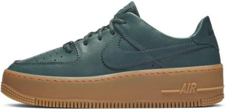 newest collection 766bd ed0d7 Buty damskie Nike Air Force 1 Sage Low LX - Zieleń ...