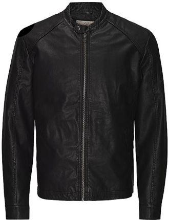 1ab7ece254cf5 Jack&Jones Męska kurtka Jororiginals Pu Jacket Noos Black (rozmiar ...