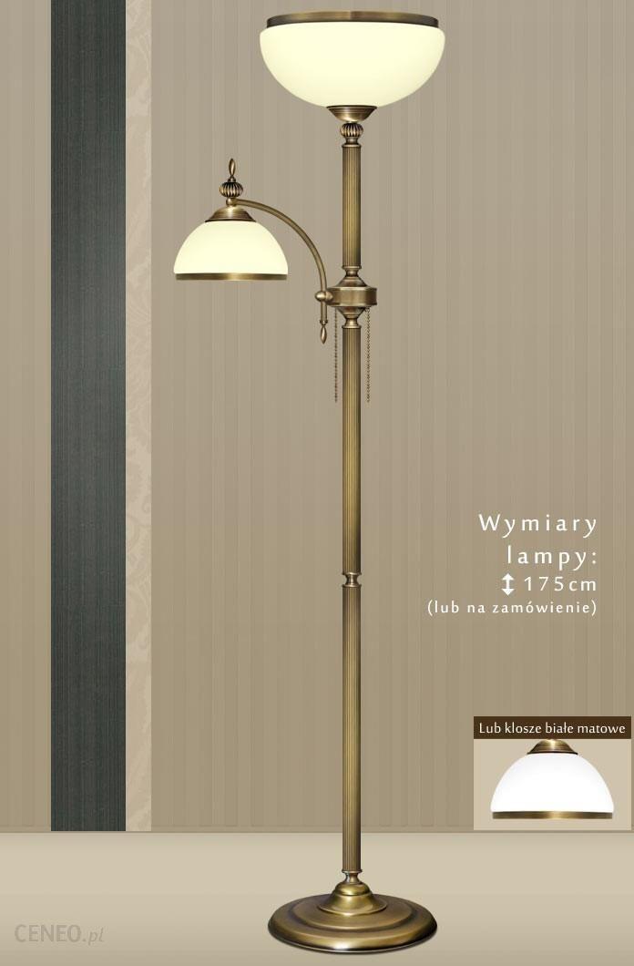 lampy podłogowe mosiężne