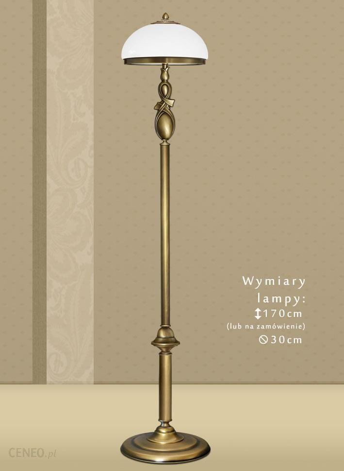lampy podłogowe kolorz mosiądzu