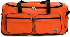 4059d3ce9b95b DUŻA WALIZKA PODRÓŻNA NA KÓŁKACH 100 LITRÓW - Pomarańczowy ...