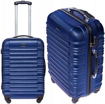 bca01be3ff27a Beżowa usztywniana walizka 67l teleskopowa rączka - Ceny i opinie ...