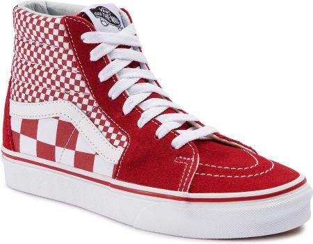 Sneakersy VANS Sk8 Hi VN0A38GEOVK Madder BrownTrue White