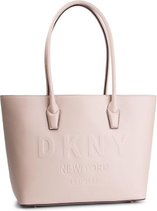 fb8432824830f Torebka DKNY - Hutton-Md Satchel-Pe R84AV845 Iconic Blush 3IB eobuwie