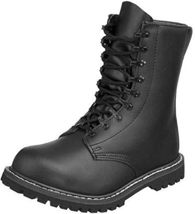 2628b53fb36cf Amazon Mil Tec buty bojowe, kozaki męskie - czarny - 48 UE