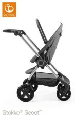 Stokke Scoot V3 Black Melange Spacerowy