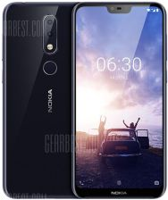 """NOKIA X6 5.8 inch 4G Phablet International Version -  Deep Blue"" - zdjęcie 1"