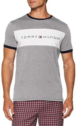 7c9d4bb52 Tommy Hilfiger Cotton Icon T-shirt Cotton Icon Rn Tee Ss Logo Grey Heather  UM0UM00963