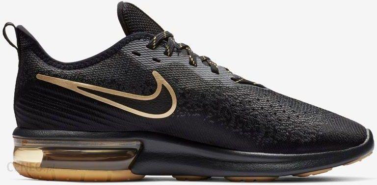 Buty Air Max Sequent 4 Nike (czarno złote) Ceny i opinie