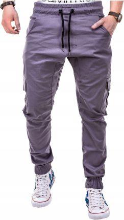 bb0c284032c95 Spodnie dresowe męskie baggy dresy P184 szare XXL - Ceny i opinie ...