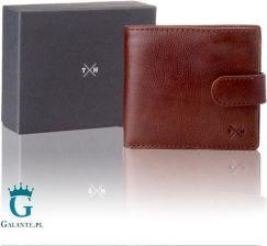 02ac6c850e40c Klasyczny skórzany portfel męski Tumble   Hide z RFID 2032-38