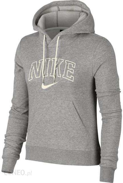 niska cena wylot online świeże style Bluza damska Sportswear Varsity Hoodie Nike (szary melanż) - Ceny i opinie  - Ceneo.pl