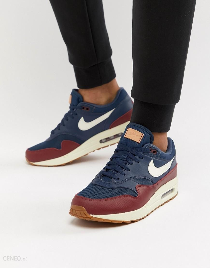 Nike Air Max 1 Trainers In Blue AH8145 400 Blue Ceneo.pl