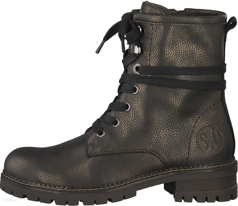 s.Oliver buty za kostkę damskie 39 czarne