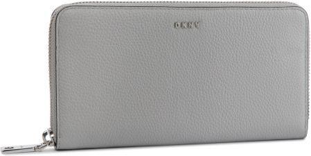 c9daab64ac567 Duży Portfel Damski DKNY - Elissa Shoulder Bag R831A658 Grey Melange GRG  eobuwie