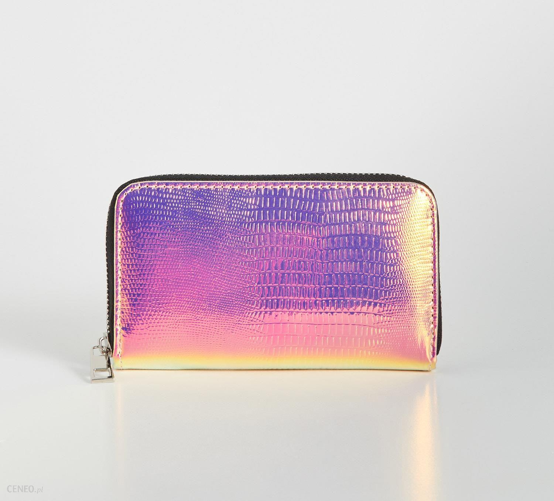 a4f45021e21e2 Sinsay - Holograficzny portfel - Wielobarwn - Ceny i opinie - Ceneo.pl