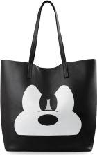 af6ce39b5e422 Młodzieżowa duża shopperka torebka damska print myszka miki – czarny ...