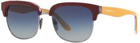 a7a7f38f5154 Okulary Przeciwsłoneczne Burberry BE 4272 37384L - TOP BORD ON  CHECK GUNMETAL