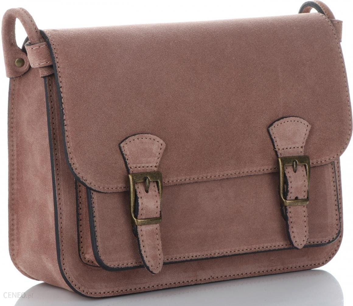 9a1c73eae8097 Stylowe Torebki Skórzane Listonoszki marki Genuine Leather Ciemno Ziemiste ( kolory) - zdjęcie 1