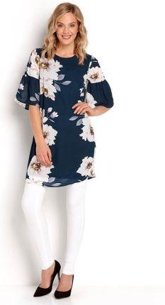 b00a543317 Happy Holly Tunika-sukienka Alina - ciemnoniebieski we wzory cellbes
