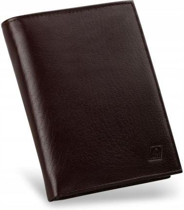 04a7bf16e5eb9 Genevian Luxury Objects 03-2210-04 portfel skórzany męski - brązowy ...