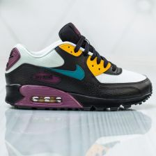 Nike Air Max 90 Leather BlackBlack Pink 325213 019
