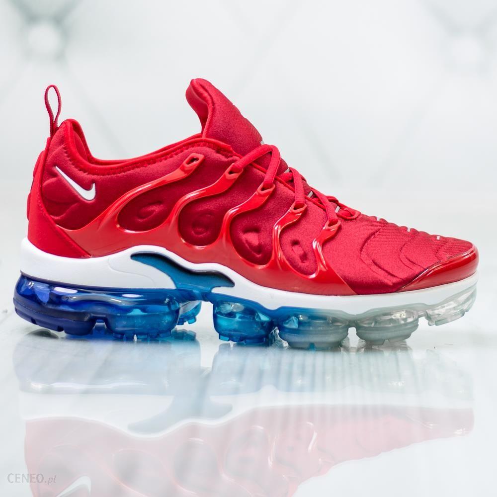 Buty Nike Air Max Vapormax Plus czerwony r. 41 Ceny i opinie Ceneo.pl