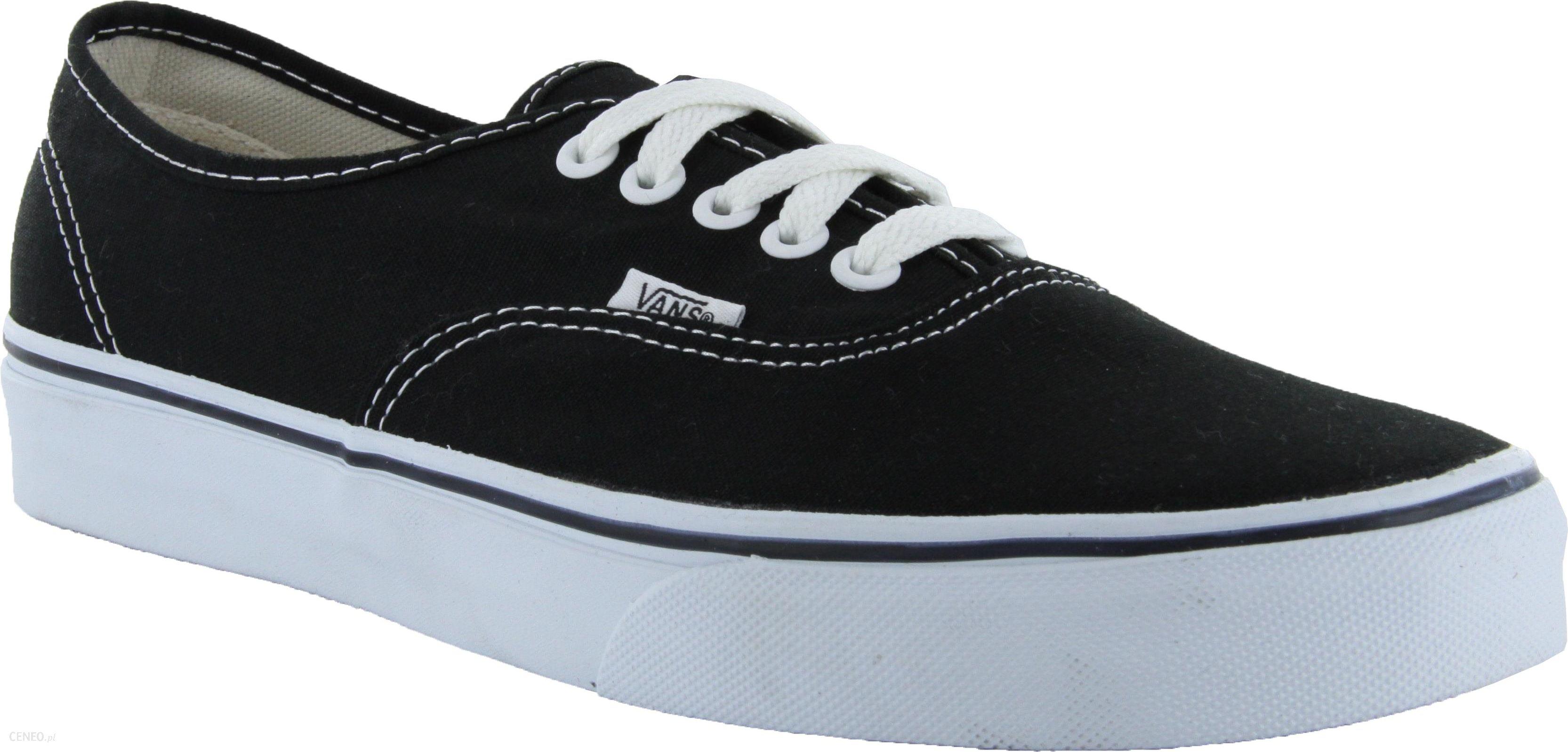 Guess Vans Authentic Skate Shoes BlackWhite Ceneo.pl