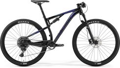 "Merida Ninety-Six 600 Glossy Black Blue Silver 29"" 2019"