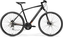 Merida Crossway 20-D Matt Black Orange 2019