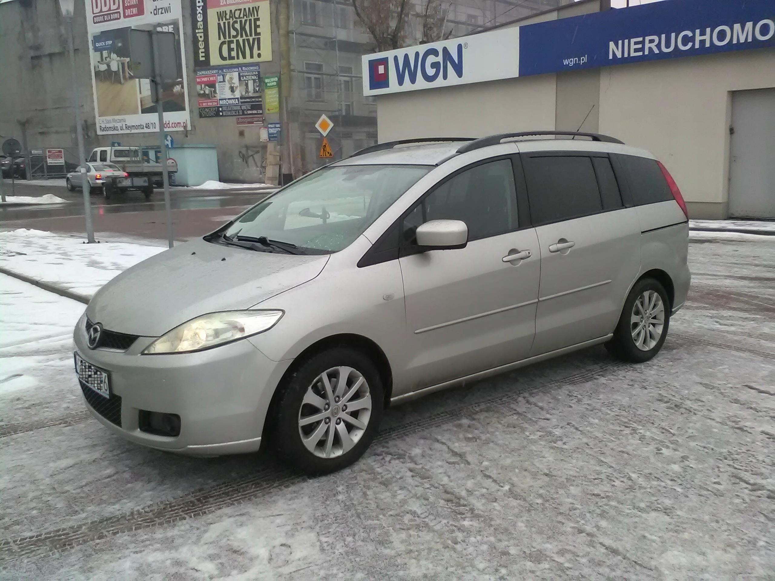 Ogromny Mazda 5 2.0 110 KM diesel VAN 7-osobowy. - Opinie i ceny na Ceneo.pl KC58