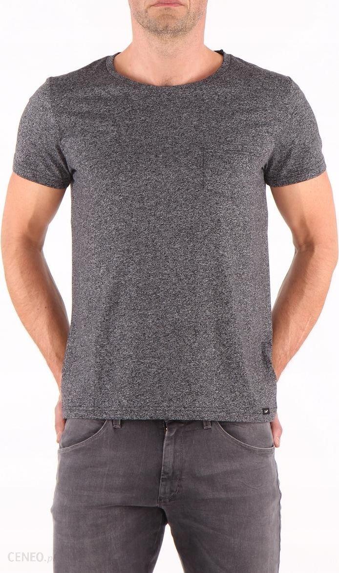 672709d3b Lee pocket tee T-shirt Męski Szary Melanż XL - Ceny i opinie - Ceneo.pl